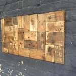 Simple Wood Pallet Wall Art