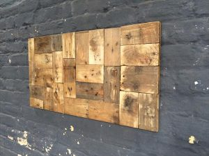 Wood Pallet Wall Art recycled pallet wall art | pallet furniture plans