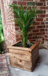 DIY Pallet Planter Boxes for Balcony