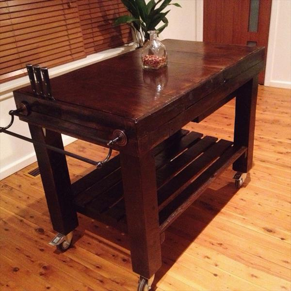 diy choco pallet kitchen island