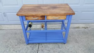 Pallet Buffet Table / Kitchen Island