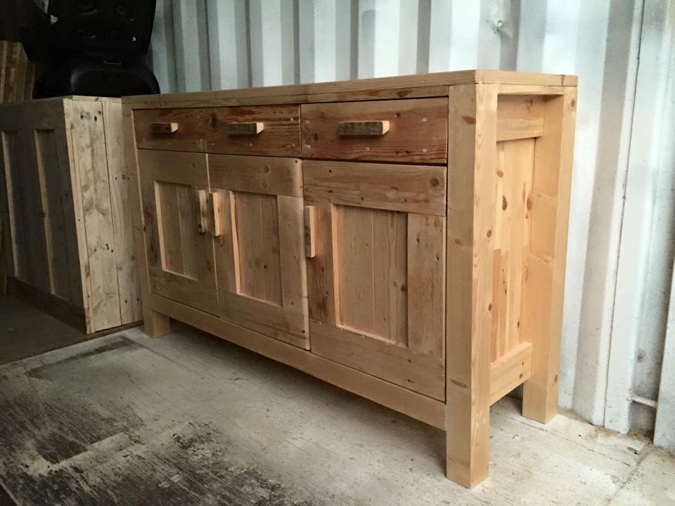 DIY Pallet Cabinet Unit Pallet Furniture Plans