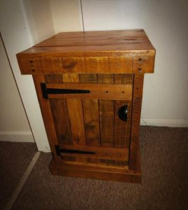 Pallet Nightstand/ End Table/ Side Table