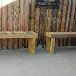 DIY Pallet Outdoor Benches