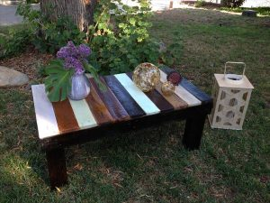 Inspire Rustic Pallet Coffee Table