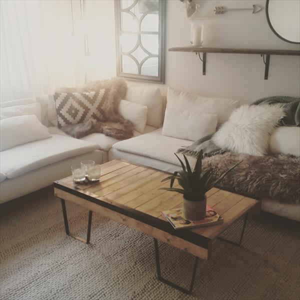 vintage pallet warehouse coffee table