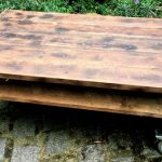 Pallet Coffee Table on Caster Wheels