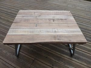 wooden pallet folding picnic table