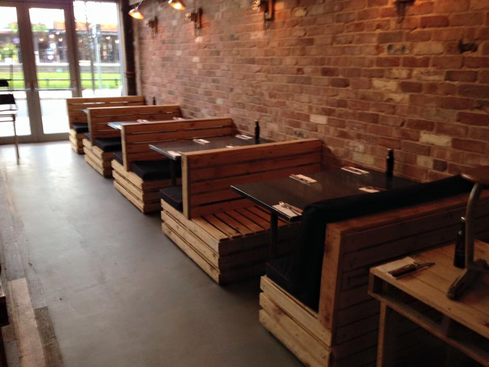 Pallet Seating Set For Restaurant Furniture Plans