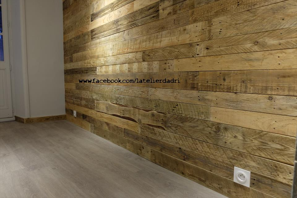 Wooden Pallet Wall Paneling Pallet Furniture Plans