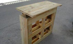 pallet bar table