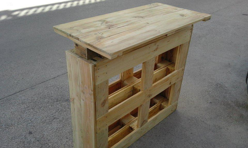 Pallet table plans 26 pallet table moveable of pallet for Movable pallets