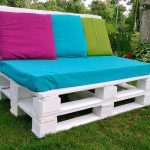 Two Seater Sofa from Pallets