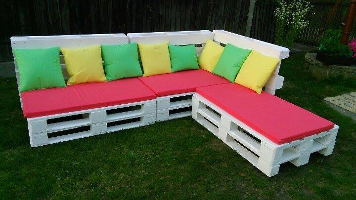 diy pallet sectional sofa