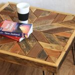 Pallet Coffee Table with Star Patterned Top