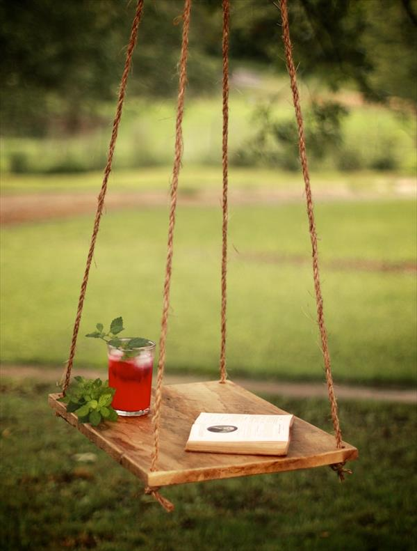 Pallet Hanging Hammock Table Pallet Furniture Plans