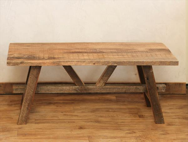 handmade pallet Scandinavian style coffee table