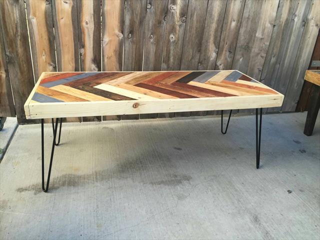 diy pallet coffee table