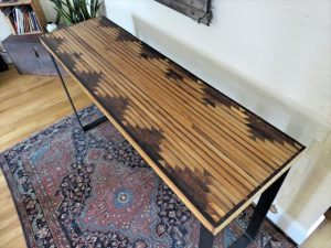 DIY Pallet Aztec Console Table