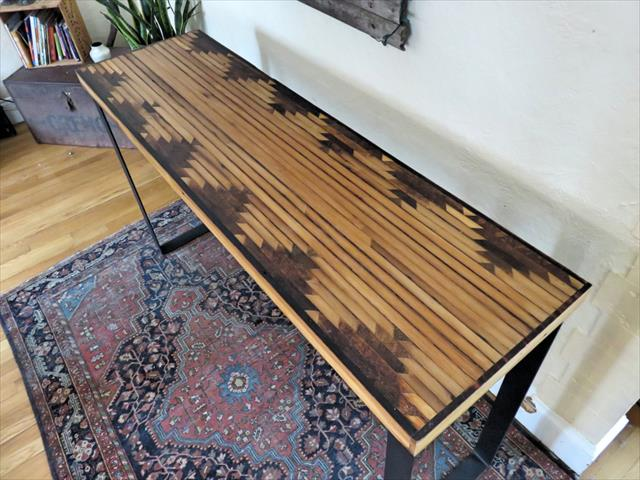 Diy Pallet Aztec Console Table Pallet Furniture Plans