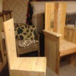 DIY Pallet Kitchen Chair / Dining Chair