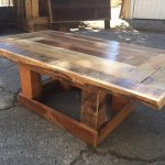 Pallet Coffee Table with Versatile Base