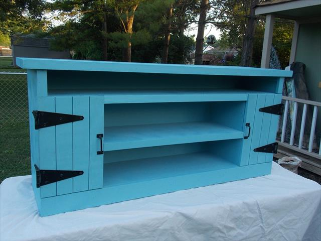 Diy Wood Pallet Entertainment Center Pallet Furniture Plans