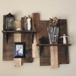 DIY Upcycled Pallet Shelf Idea
