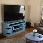DIY Wood Pallet Entertainment Center